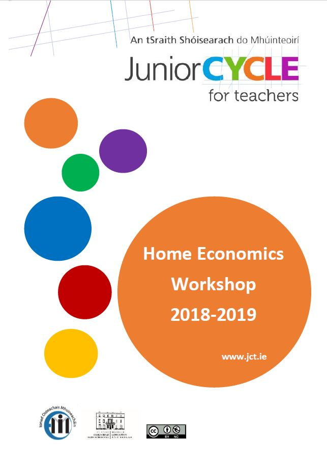 Home Economics Booklet 2018/19