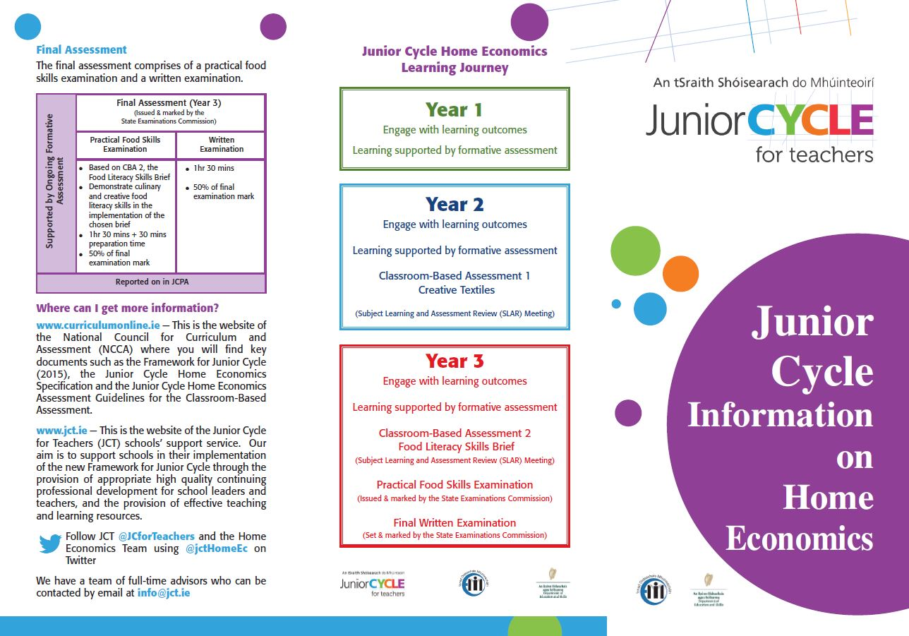 Home Ec Information Leaflet