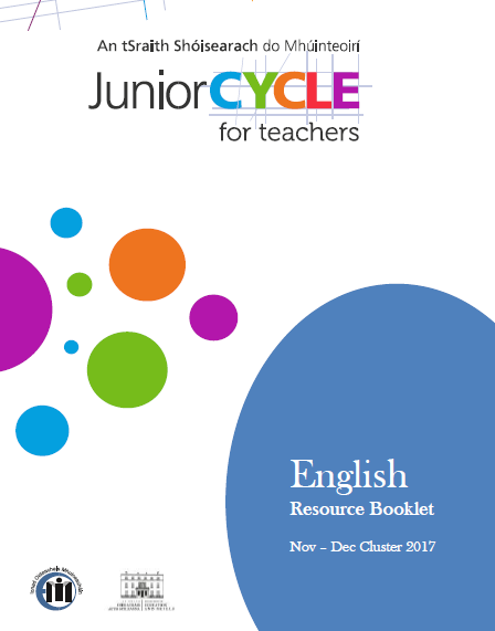 English - CPD Workshops 2017/2018 | Junior Cycle for Teachers (JCT)