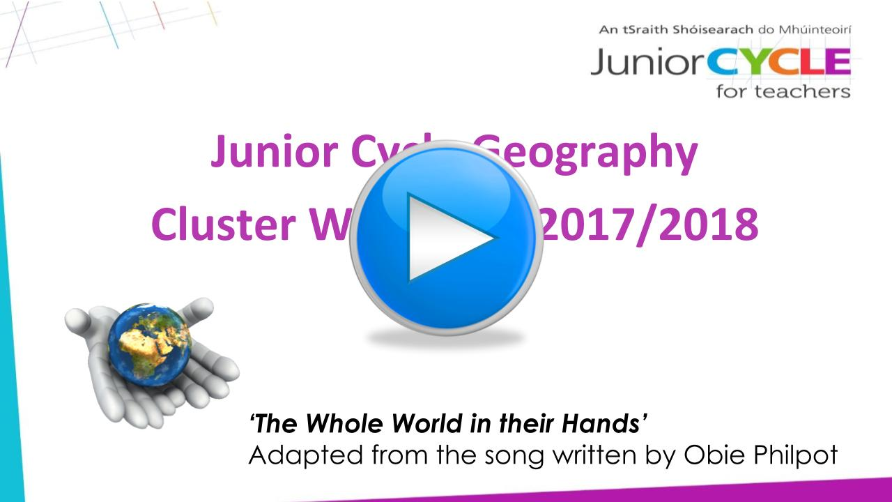 Geography - CPD Workshops 2017/2018 | Junior Cycle for