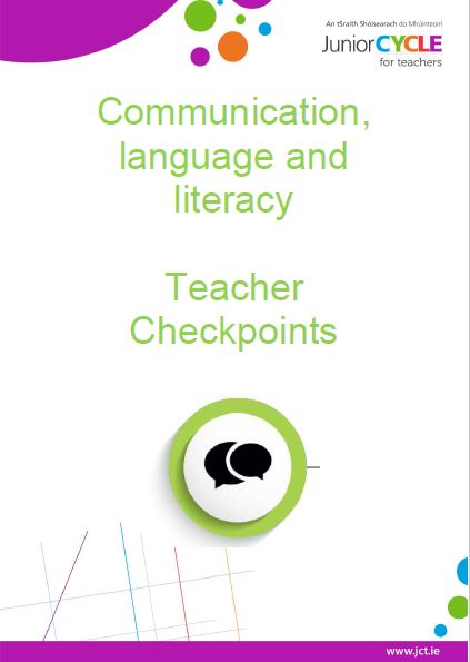 Communication, Language & Literacy Teacher Checkpoints