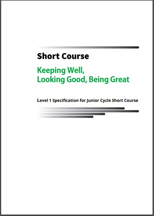 Short Course: Looking Good, Being Great