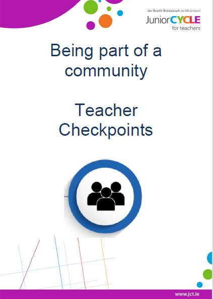 Being part of a Community Teacher Checkpoints