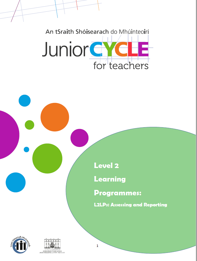 L2LPs Assessing and Reporting CPD Workbook