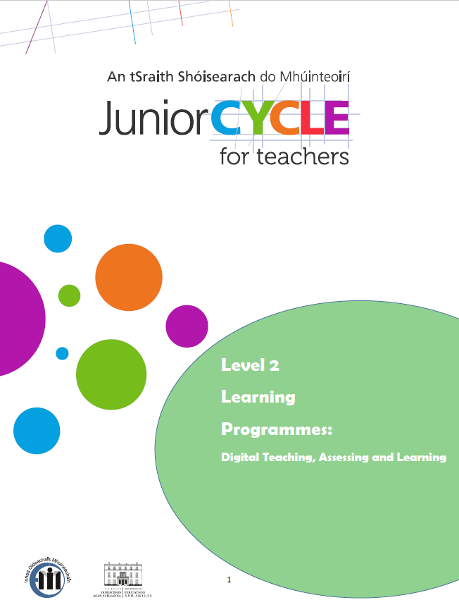 L2LPs Digital Teaching, Assessing and Learning CPD Workbook