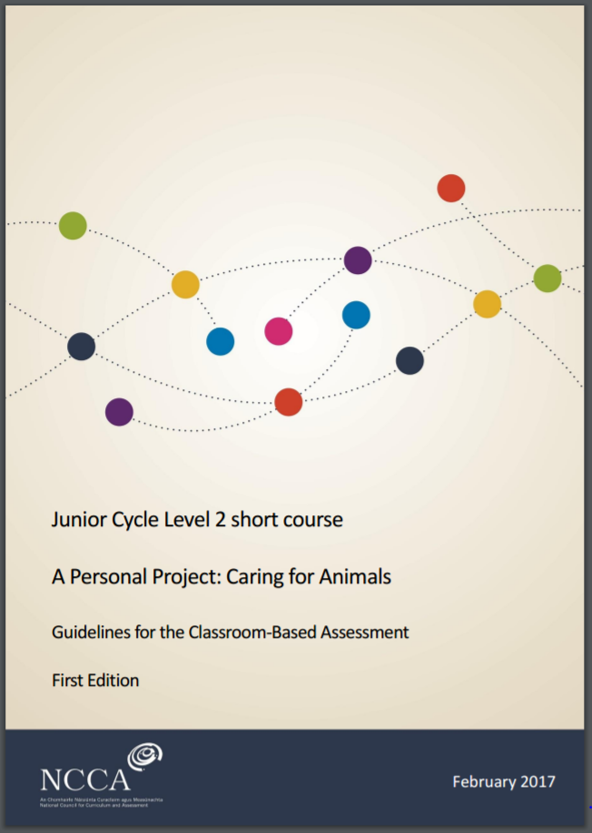Short Course Caring for Animals Assessment Guidelines