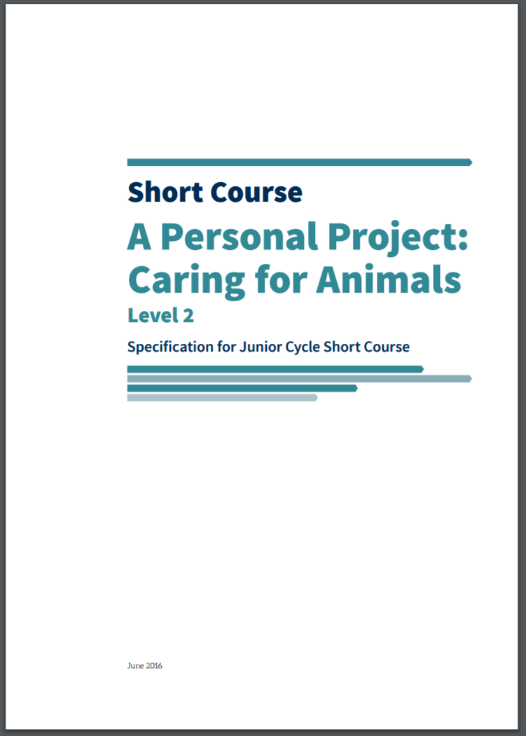 Short Course Caring for Animals