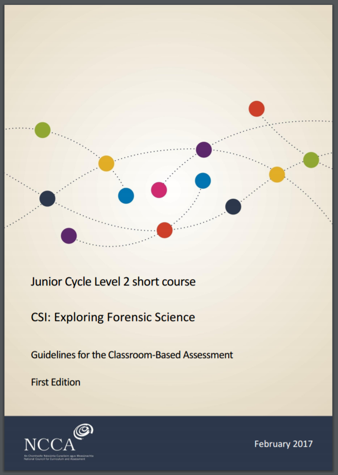 Short Course: CSI - Exploring Forensic Science Assessment Guidelines