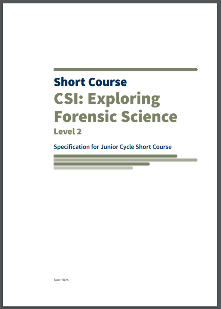 Short Course: CSI - Exploring Forensic Science