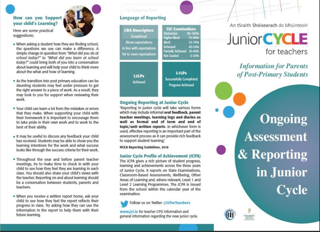 Leadership | Resources | Junior Cycle for Teachers (JCT)
