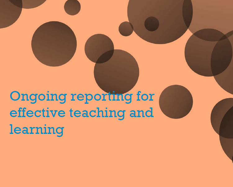 Ongoing Reporting Booklet
