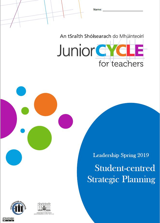 Student Centred Strategic Planning Learning Log Spring 2019