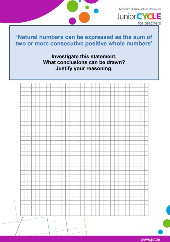 Consecutive Numbers Task