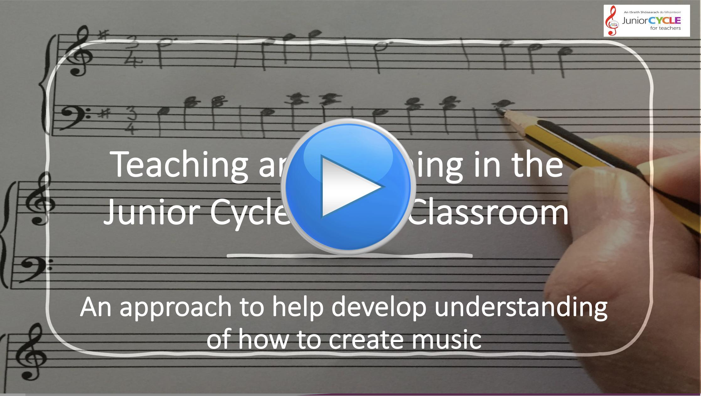 Online Learning - An Approach to Help Develop Understanding of How to Create Music