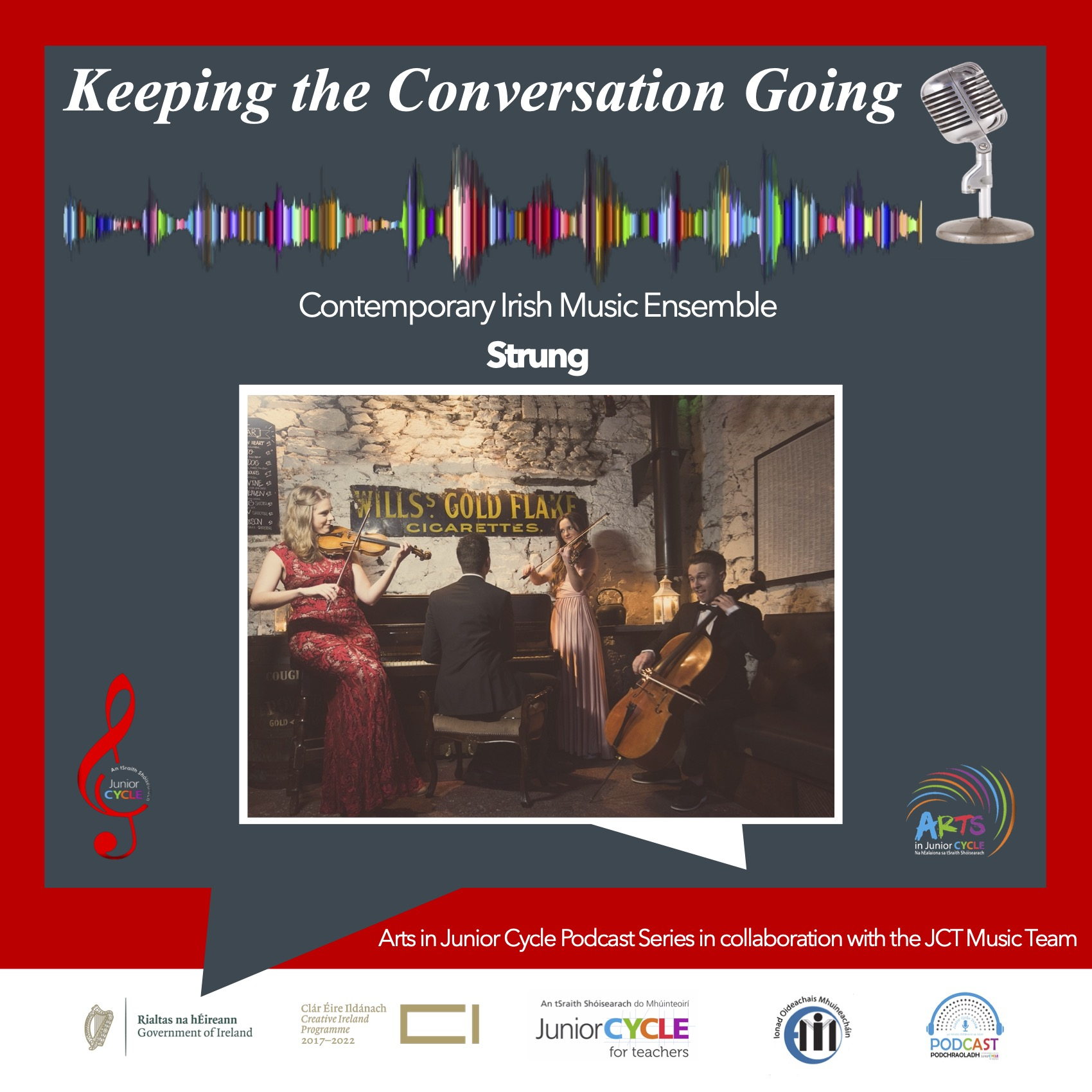 Podcast - 'Keeping the Conversation Going'