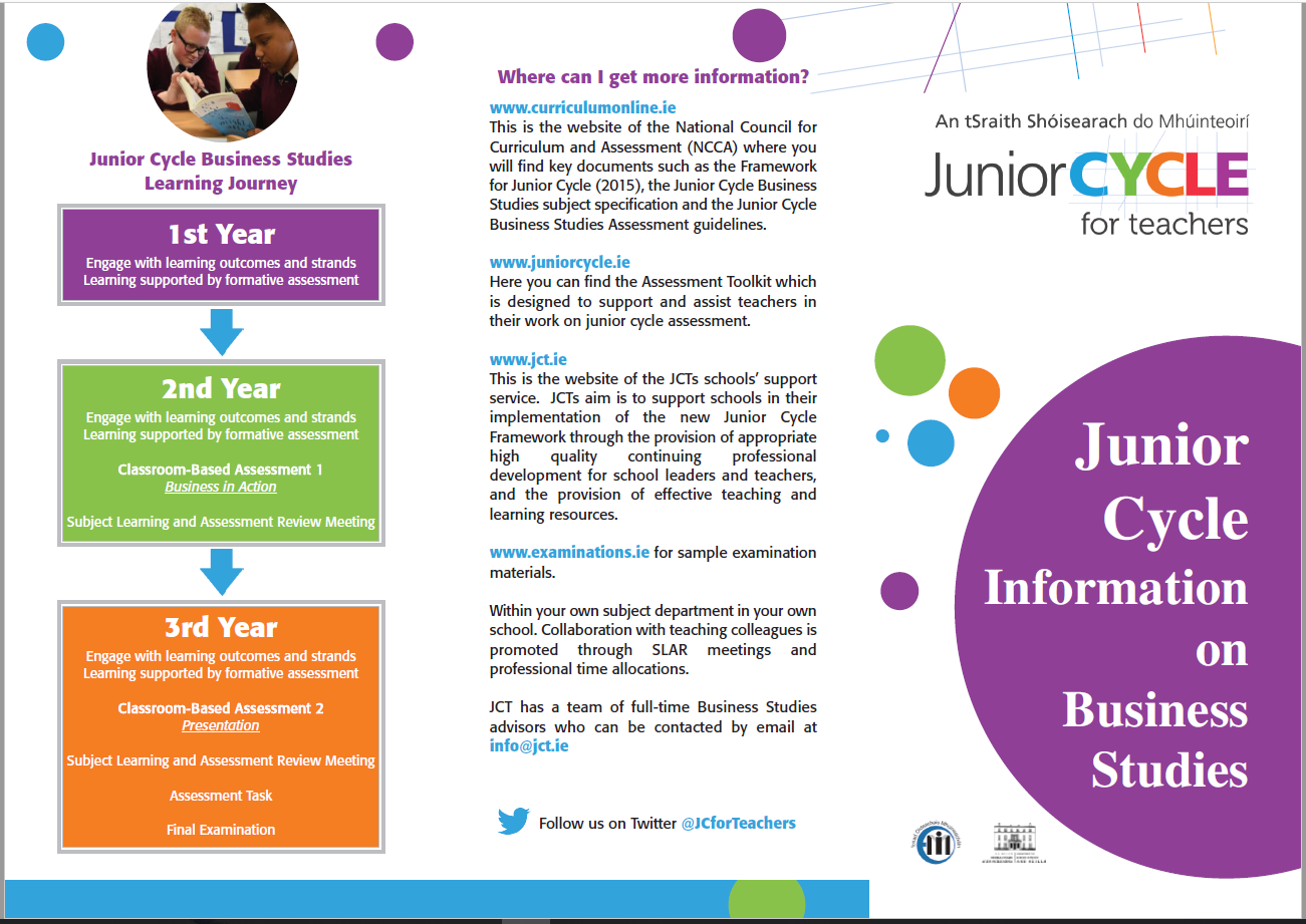 Business Studies Information Leaflet