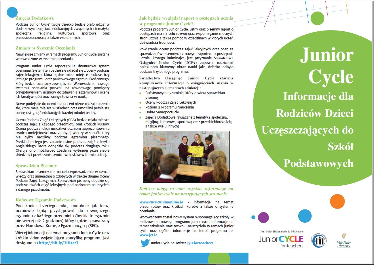 2397d8b9793 Publications | Junior Cycle for Teachers (JCT)