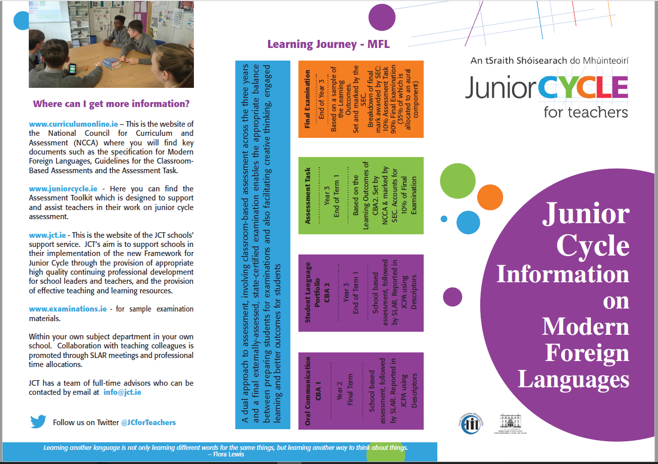 Modern Foreign Languages Information Leaflet