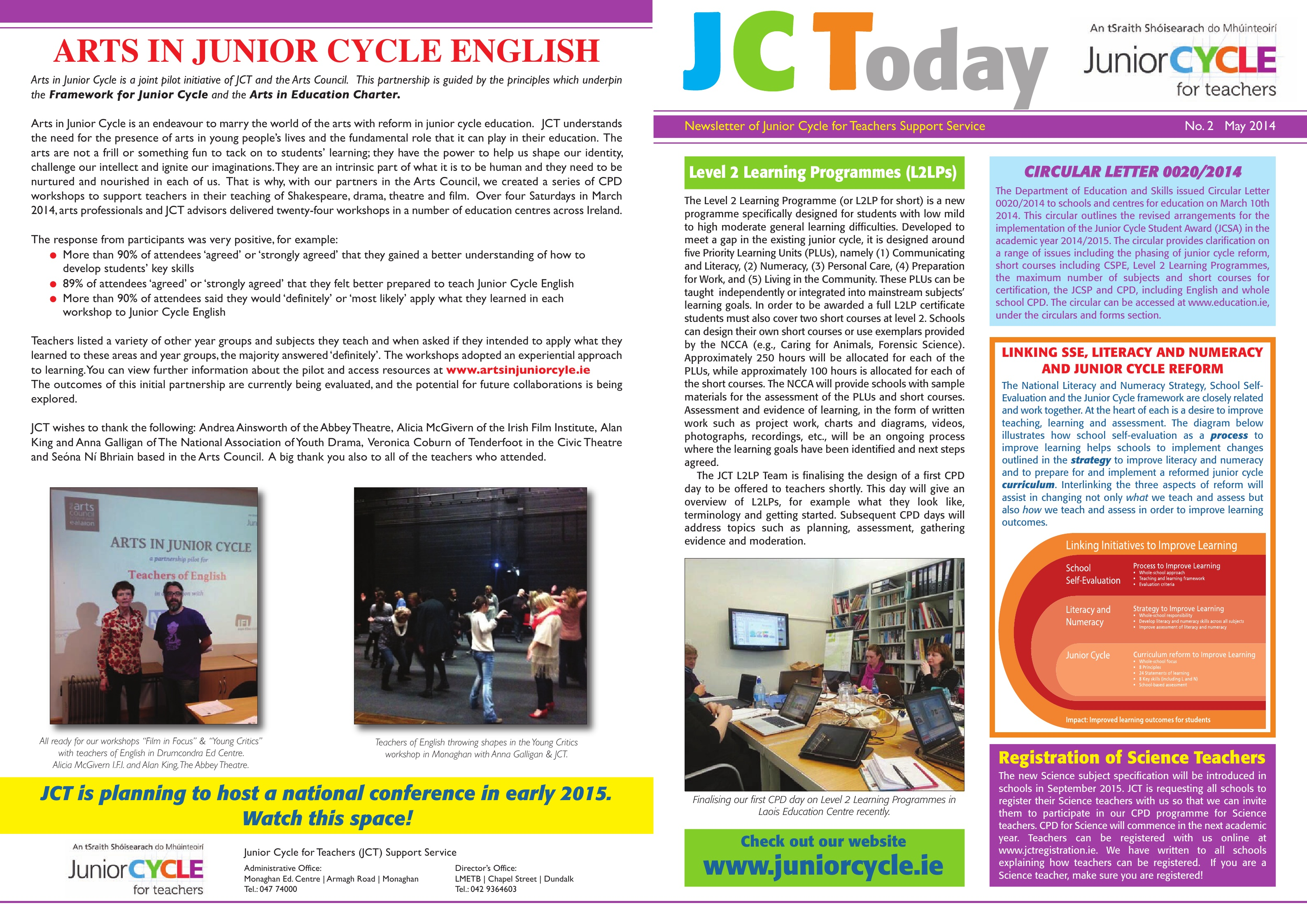 JCToday Newsletter May 2014