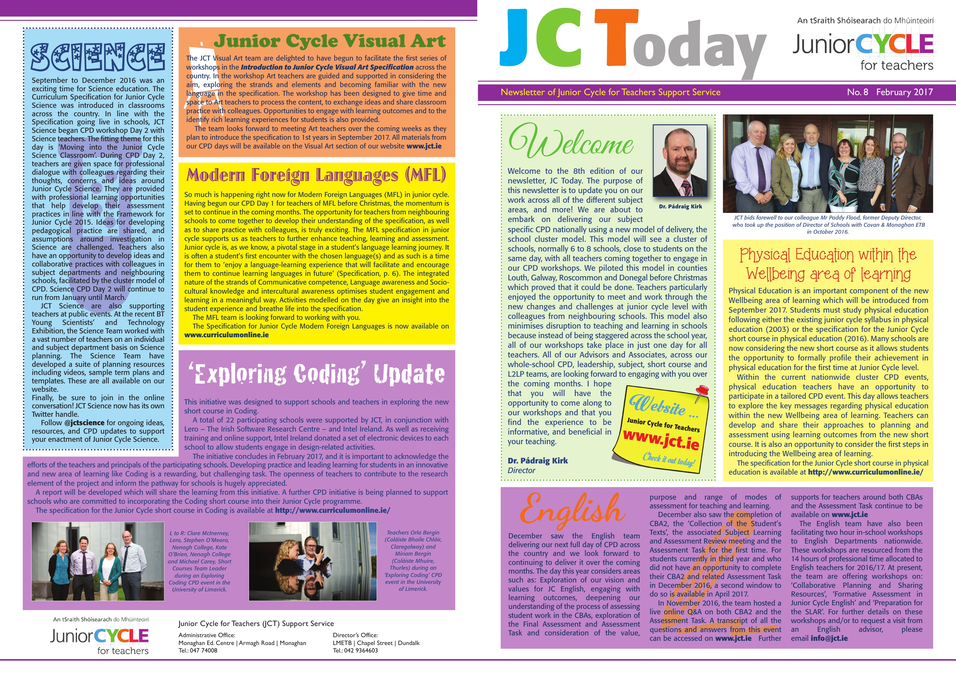 JCToday Newsletter No. 8