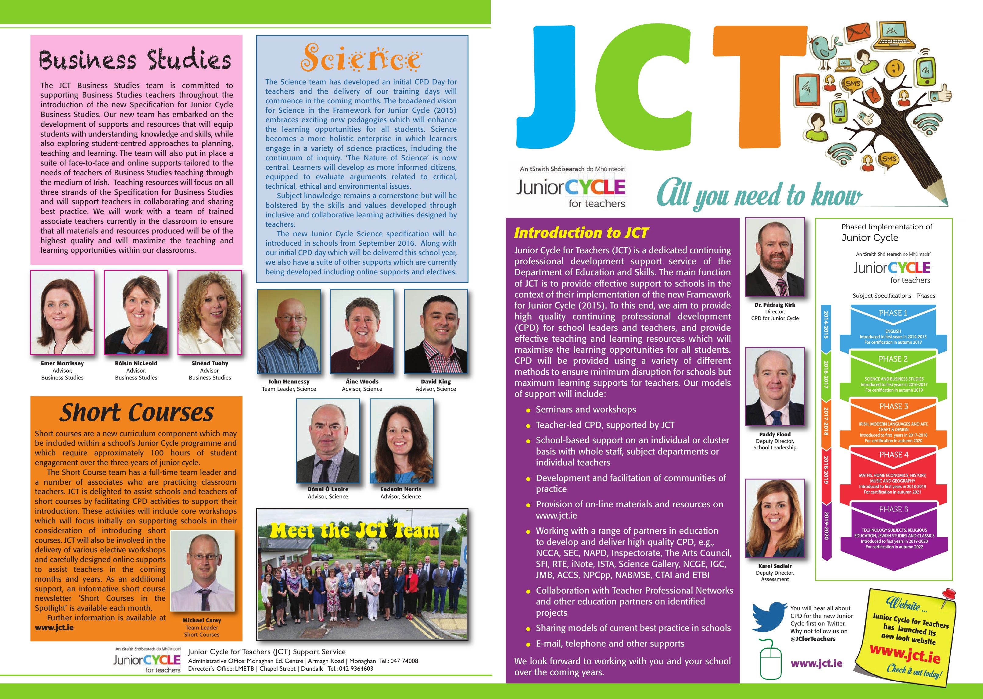JCToday Newsletter October 2015