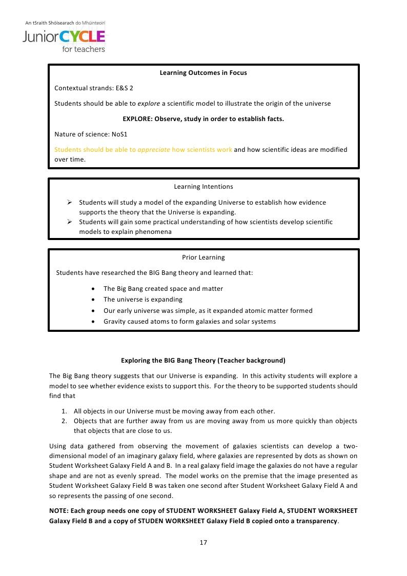 big bang theory worksheet the best and most comprehensive worksheets. Black Bedroom Furniture Sets. Home Design Ideas