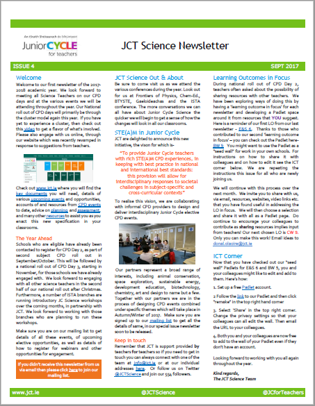 Science Newsletter Issue 4
