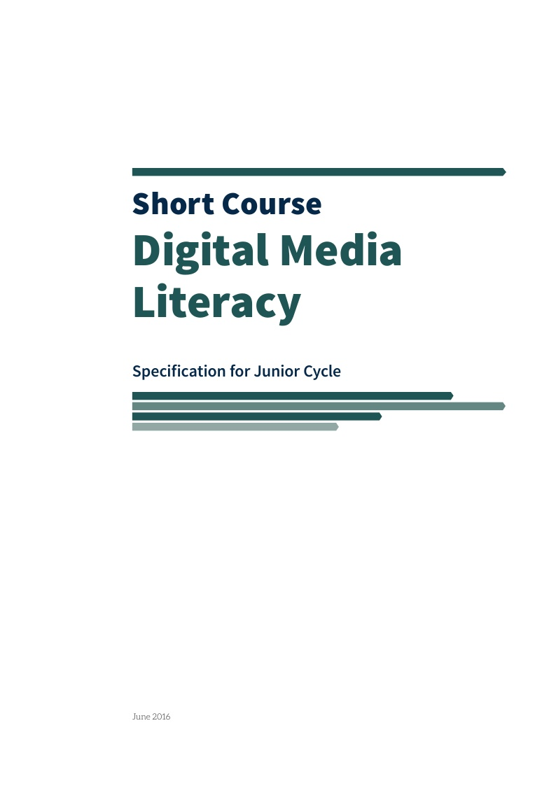 Digital Media Literacy Specification