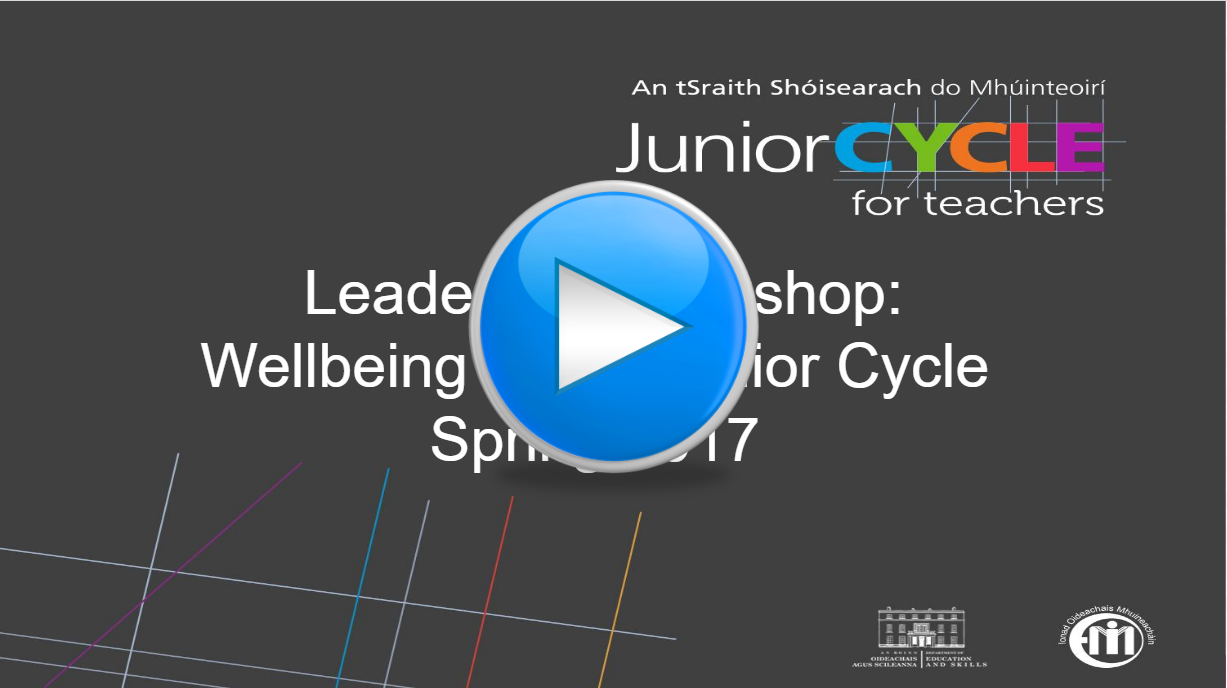 Wellbeing in the Junior Cycle